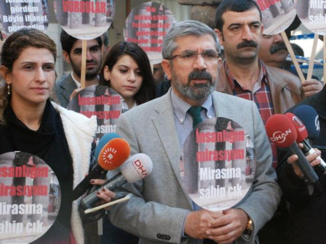 L'assassinio di Tahir Elçi e quel ramo d'ulivo caduto dalla suabocca.