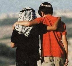 bambini arabo e ebreo