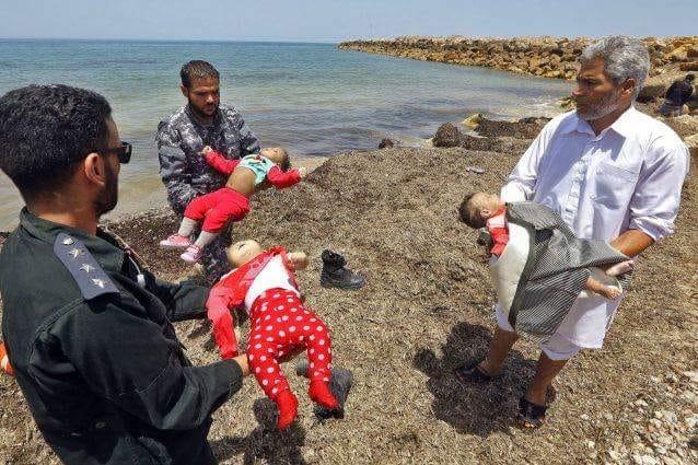 3 bambini migranti morti nel mare